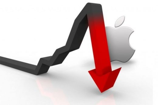 apple baja stock invertir inteligente